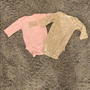 Just One You by Carter's bodysuits